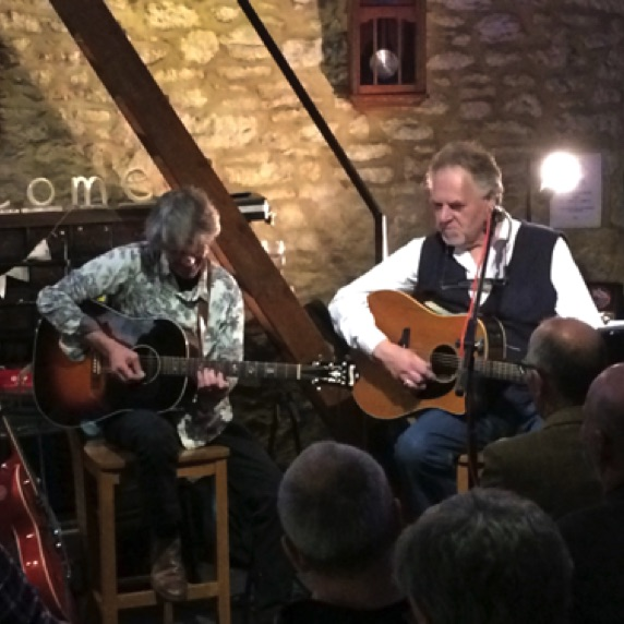 GRAHAM ROBINS & Chris Newman 6th April, 2018